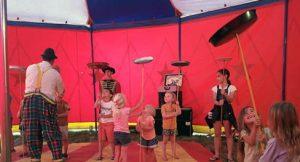 Camping Circus Frankrijk