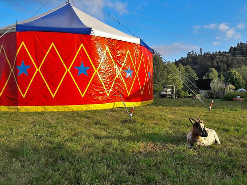 Camping Circus Les Trexons